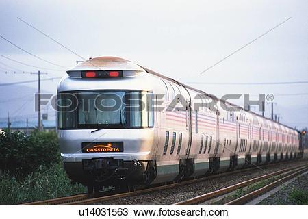 Stock Photo of Express Train With Sleeping Berths u14031563.