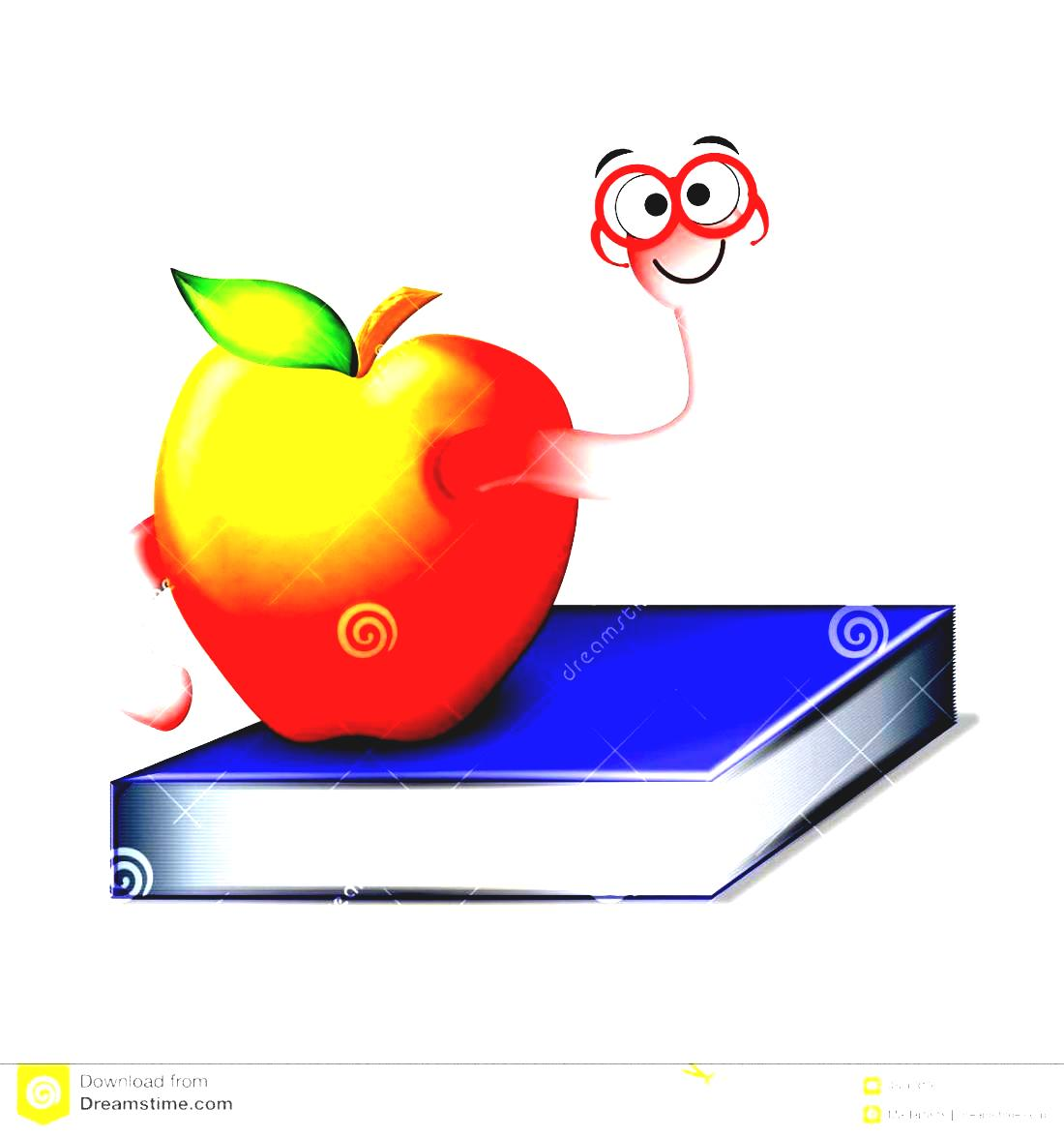 Clipart In With Illustrations Vectors Apple Stock Book Adventure.