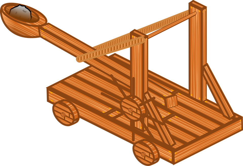 Free vector graphic: Catapult, Medieval, Rpg, Weapon.