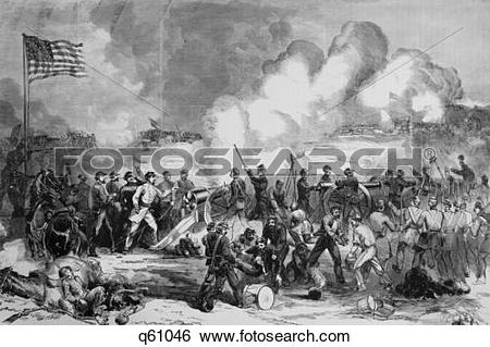 Stock Images of 1860S 1861 General Price Confederate Militia.