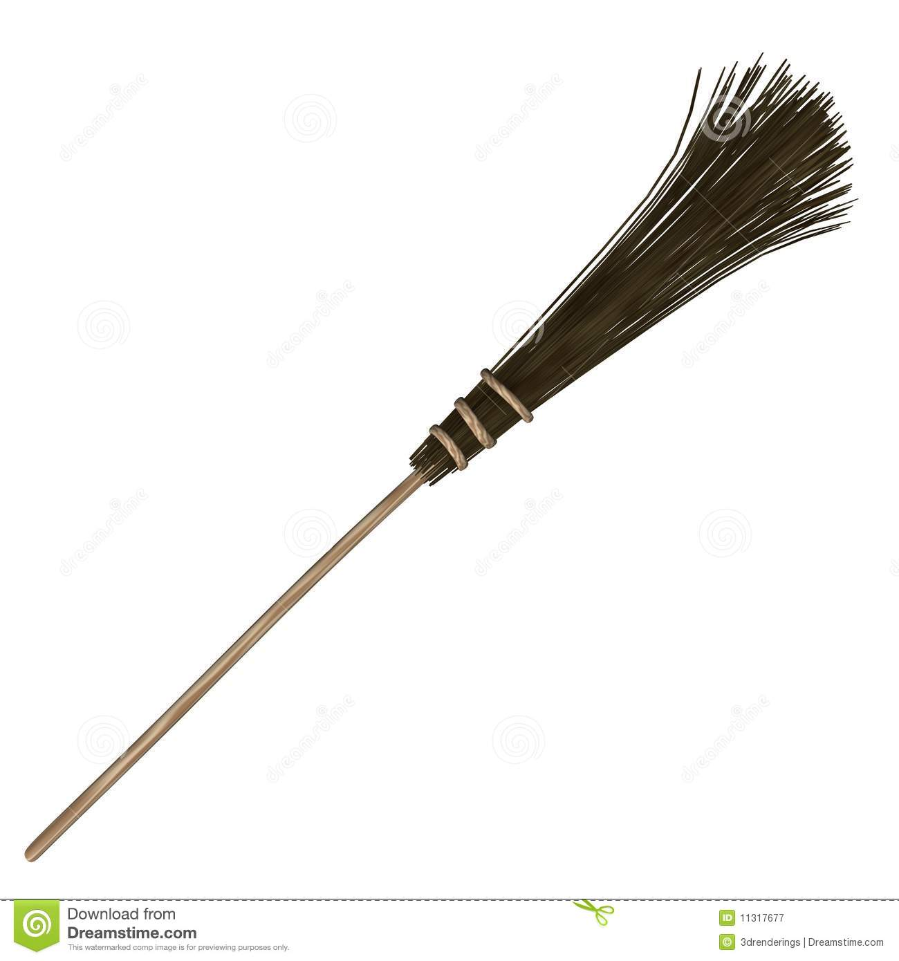 Besom Royalty Free Stock Photography.