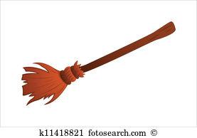 Besom Clip Art Illustrations. 453 besom clipart EPS vector.