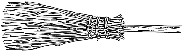 Besom Broom Clip Art Download.