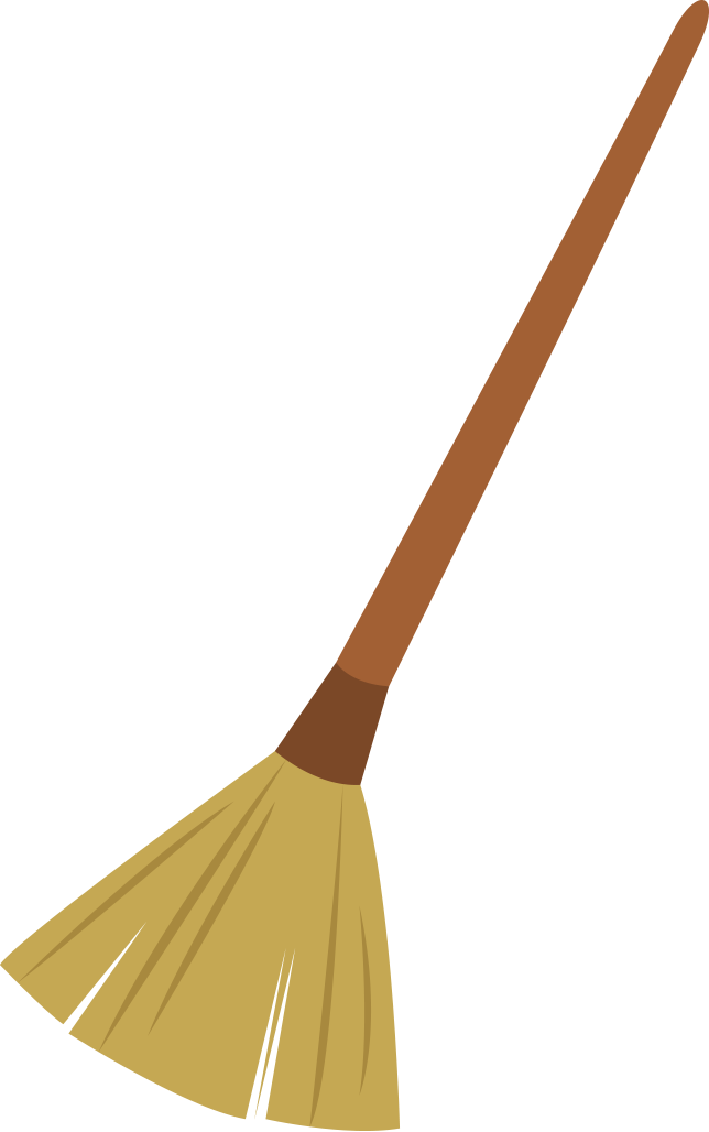 Broomstick Clipart.