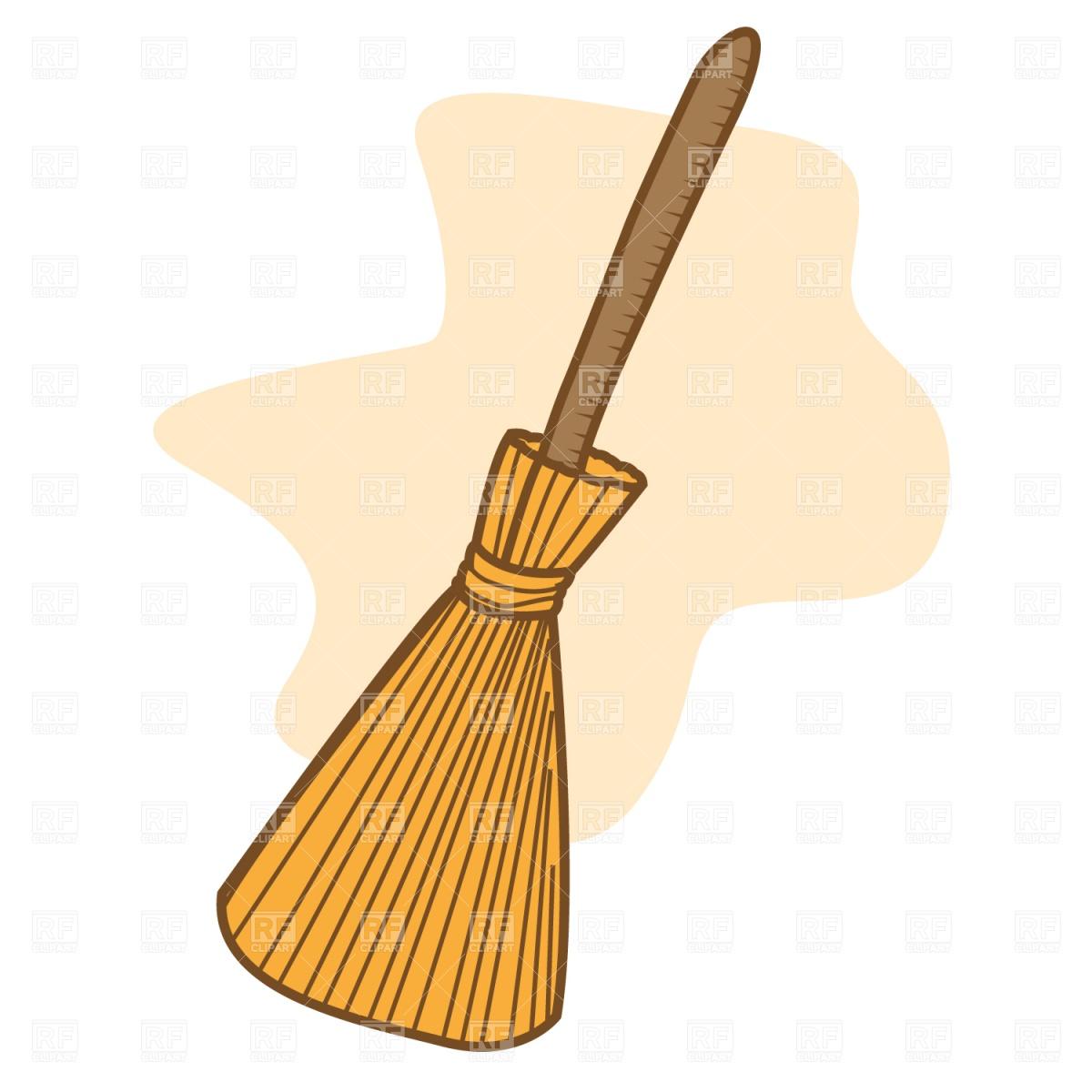 Broom Vector Image #1563.
