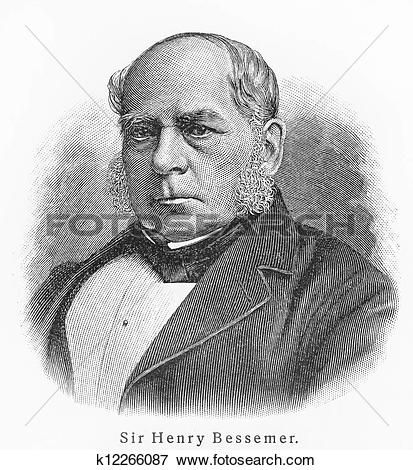 Picture of Sir Henry Bessemer k12266087.