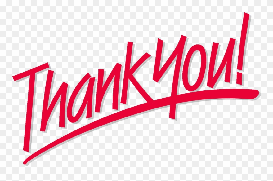 Thank You Png Images Transparent Background.