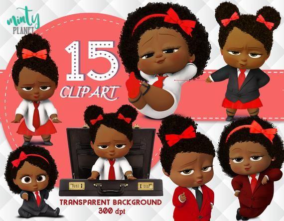 African American Red Girl Boss Baby, Boss Baby Red Girl full.