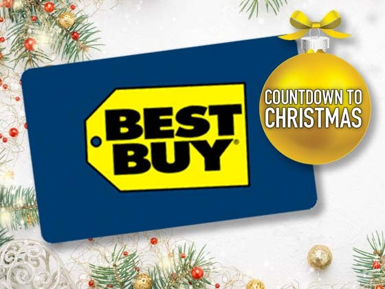 Win a $300 Best Buy Gift Card!.