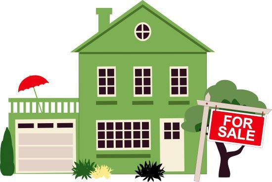 Best House For Sale Clip Art #23311.