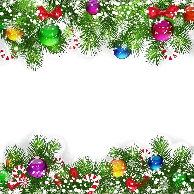Adorable Christmas Clipart Backgrounds Free.