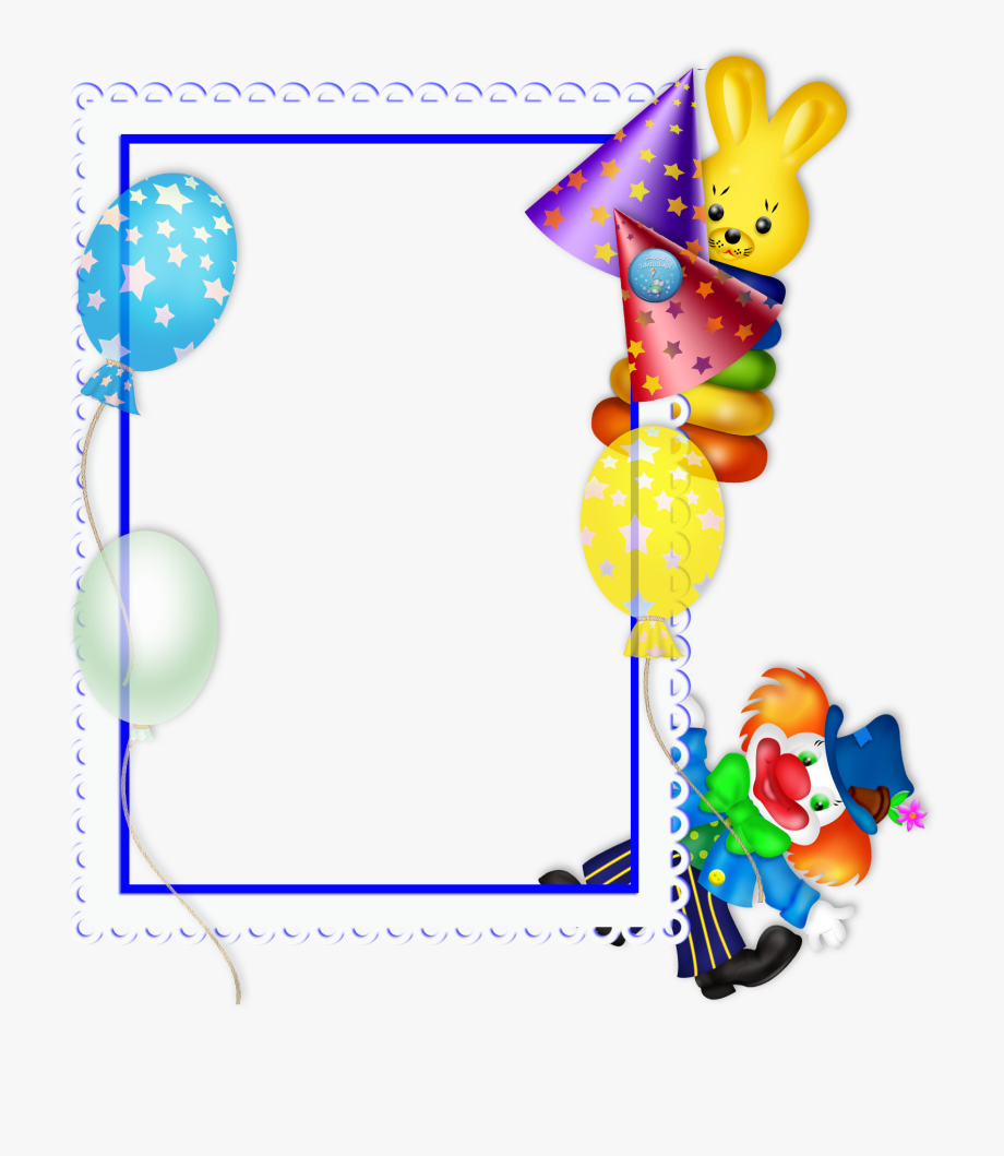 Birthday Frame Clipart Free Download Best Birthday.