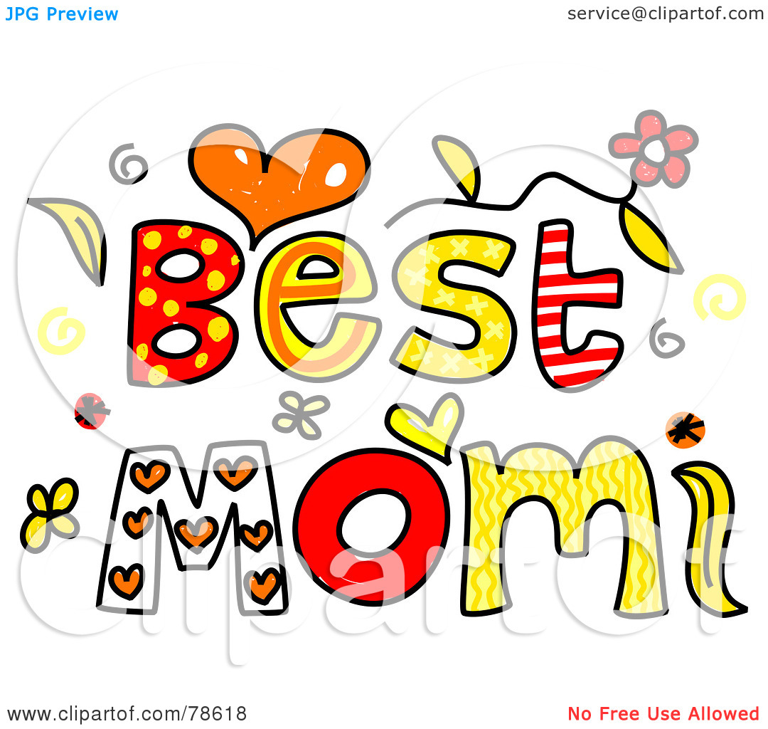 Best Mom Clipart.