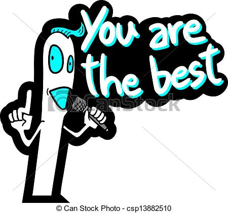You're The Best Clipart.
