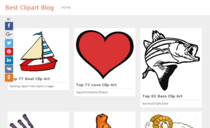 Bestclipartblog.com website. Best Clipart Blog.