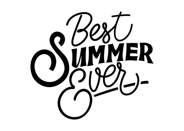 Best Best Summer Ever Illustrations, Royalty.