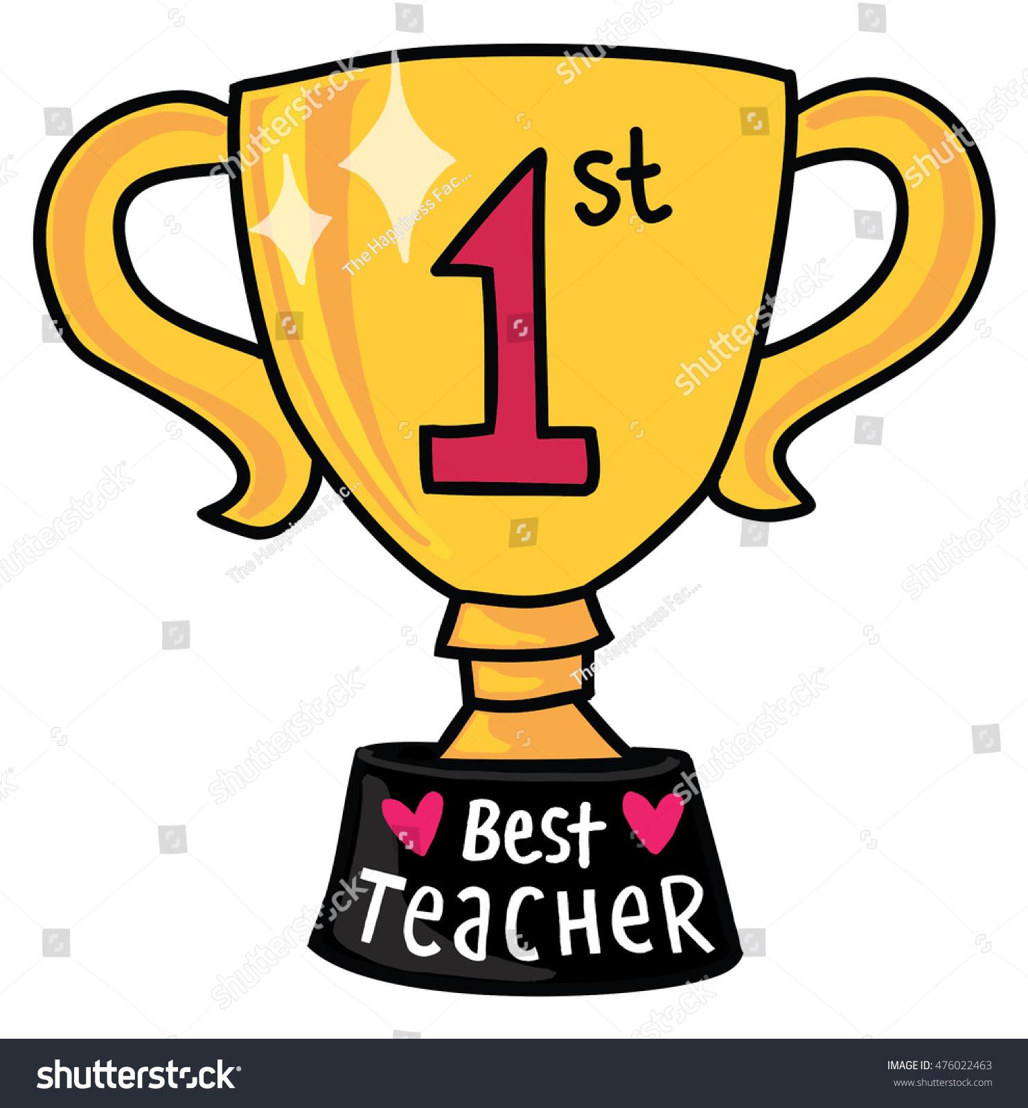 Best Teacher Award Clipart.