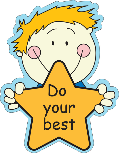 Do Your Best Clipart.