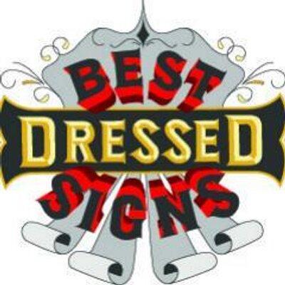 Best Dressed Signs (@BestDressedSign).