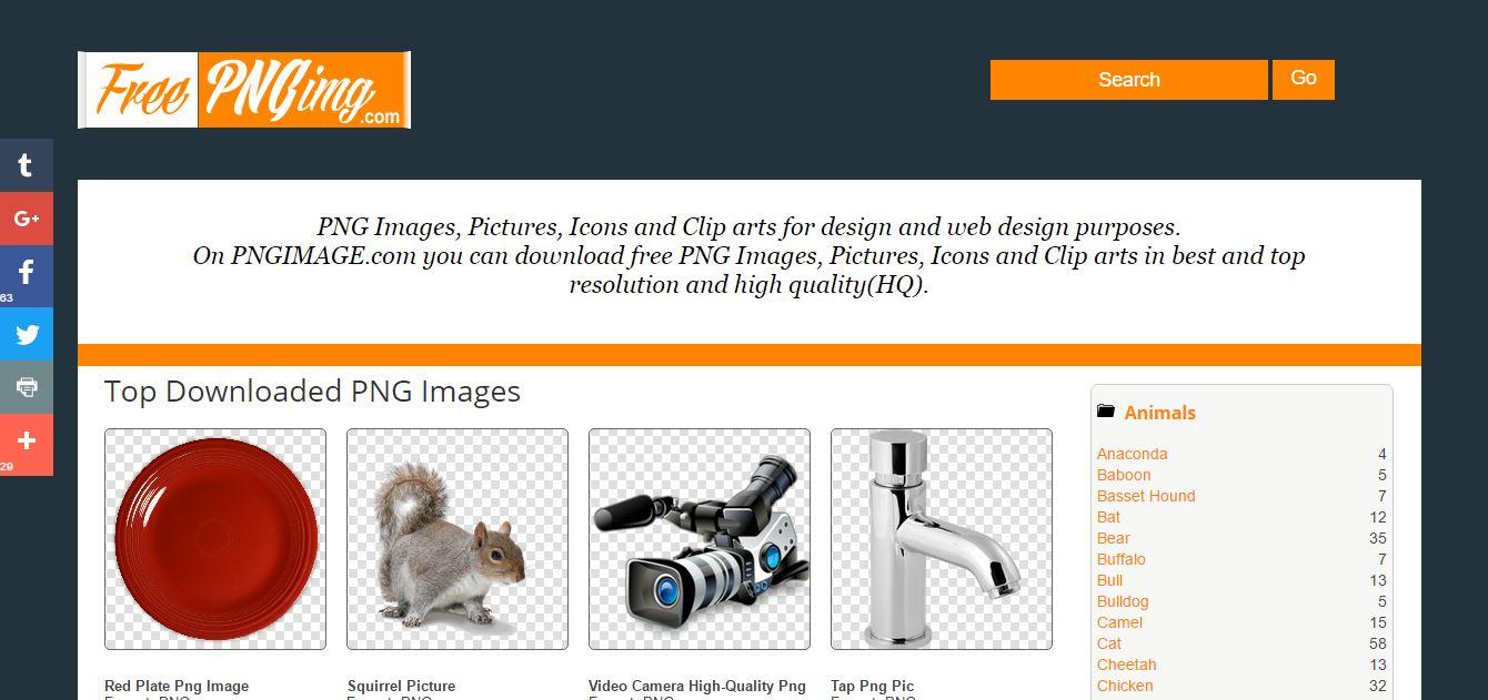 The Best Transparent PNG Image Resource Websites.