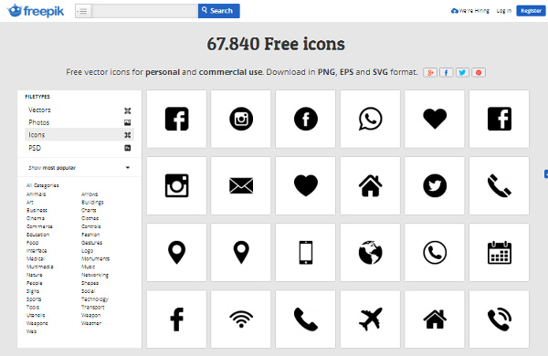 Icon Files: 17 Best Places to Find Free & Premium Icons.