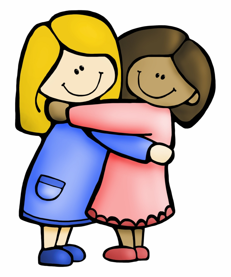 Pictures Of Best Friends Clipart.