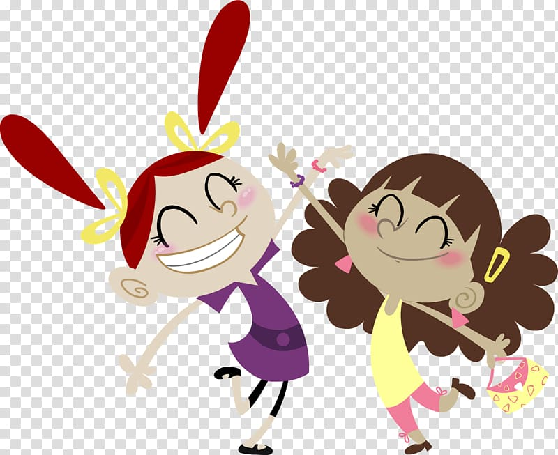 Best friends forever Cartoon Desktop , Best Friends Cartoon.