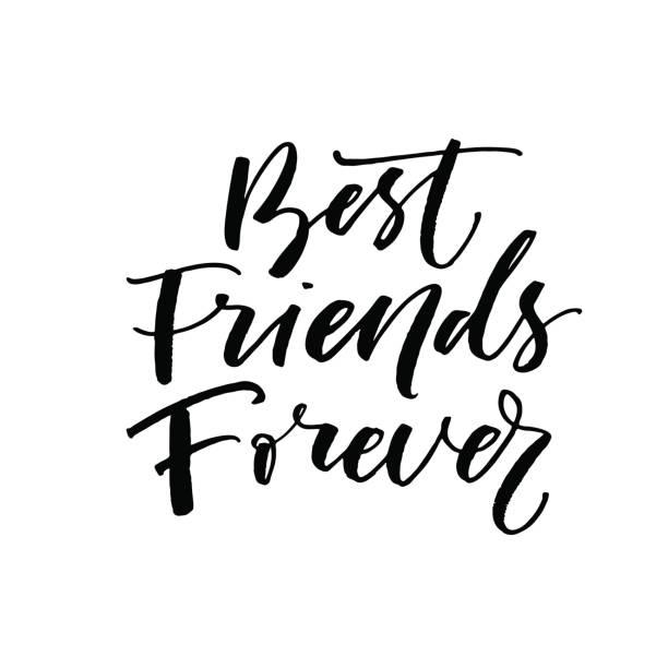 Best Best Friends Forever Illustrations, Royalty.