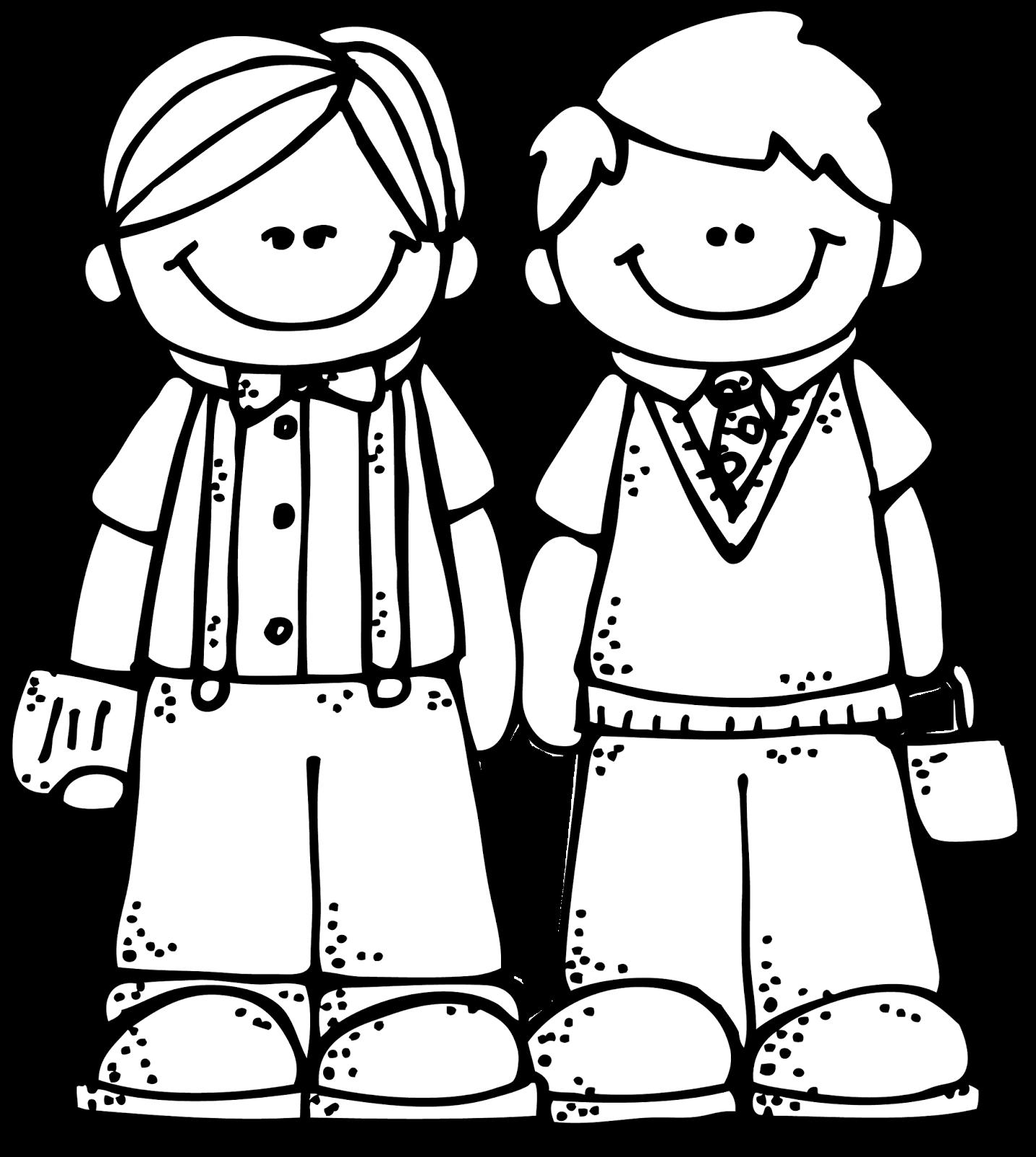Friendship Clipart Black And White.