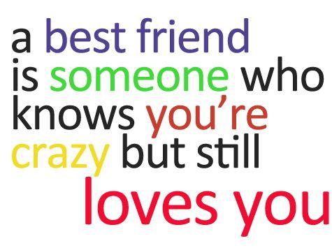 15+ best ideas about Crazy Best Friend Quotes on Pinterest.