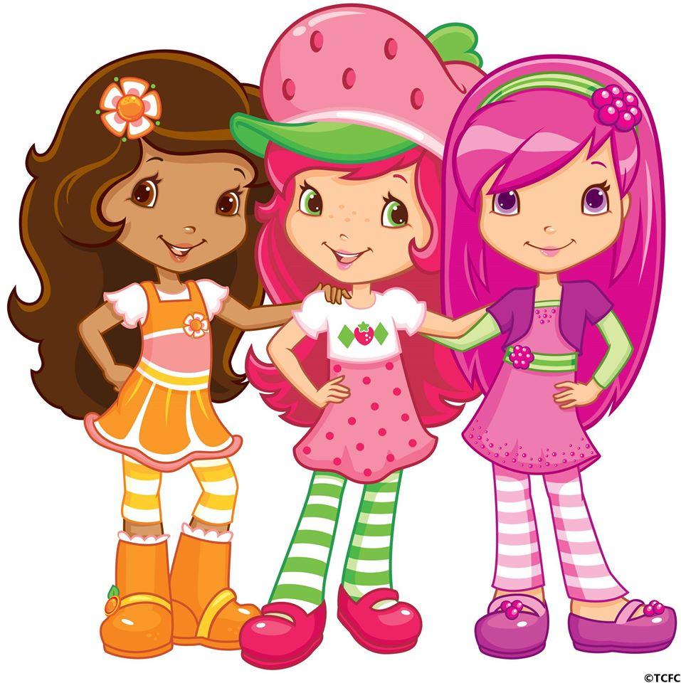 Berry Best Friends as Come. Strawberry Shortcake, Orange Blossom.