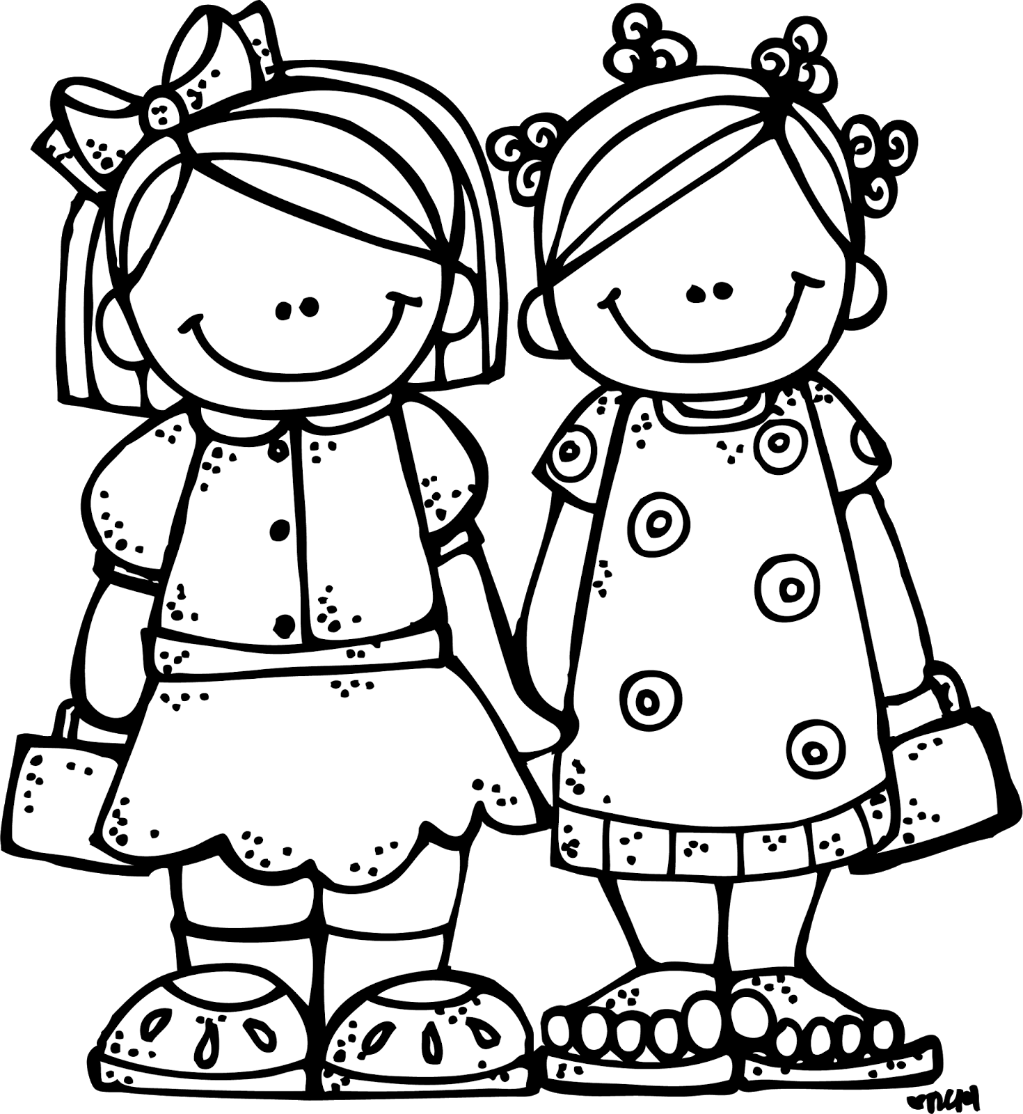 Free Best Friend Clipart Black And White, Download Free Clip.