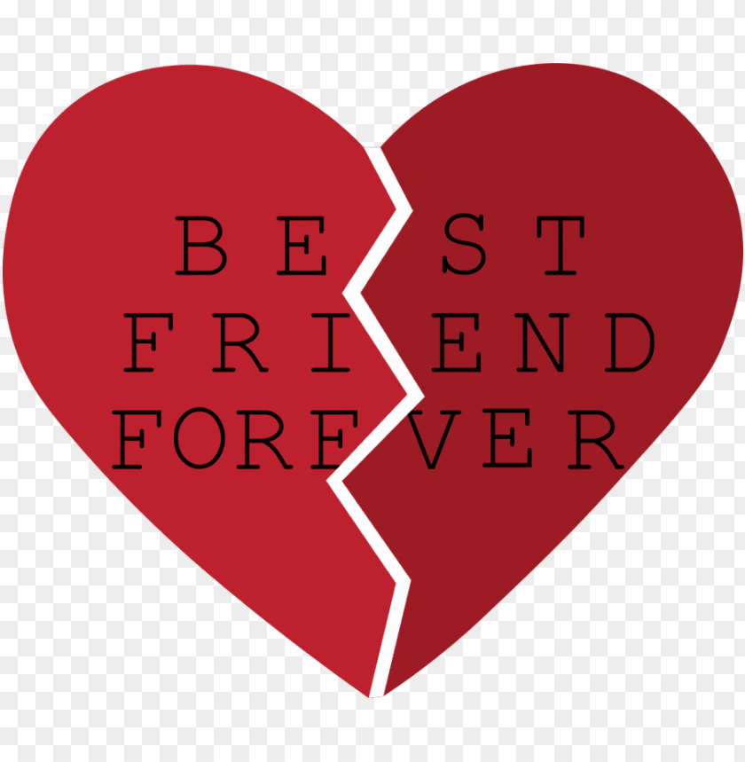 banner royalty free best friends heart clipart.