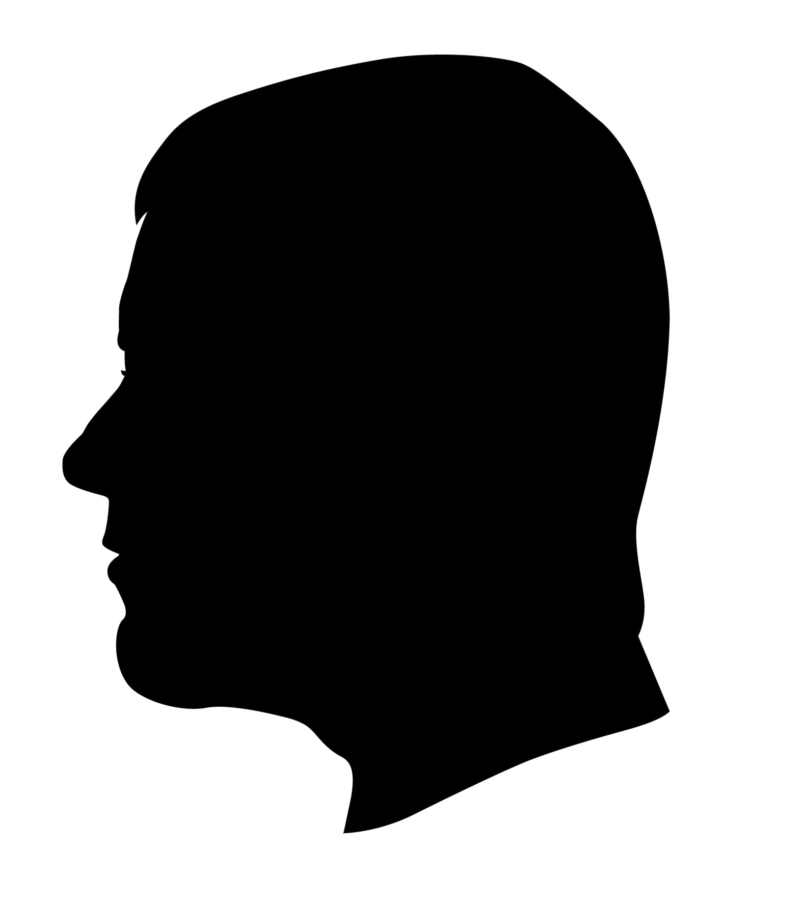 Free Man Head Silhouette Png, Download Free Clip Art, Free.