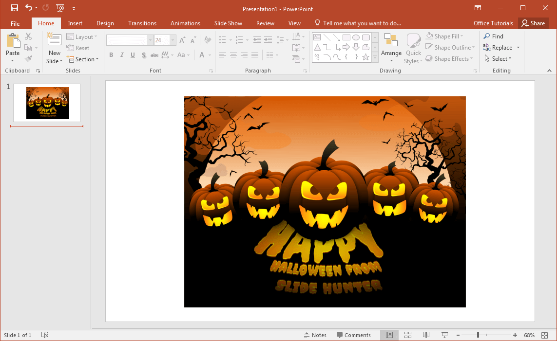 Best Halloween Clipart Images For PowerPoint.