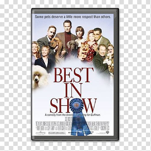 Movie covers, Best in Show transparent background PNG.