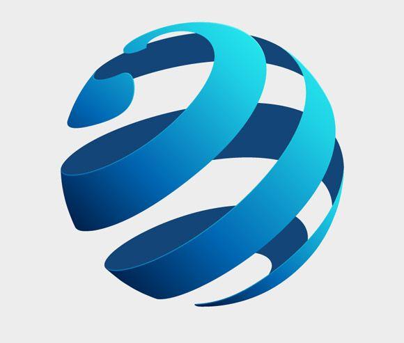 Globe Logo Concept.