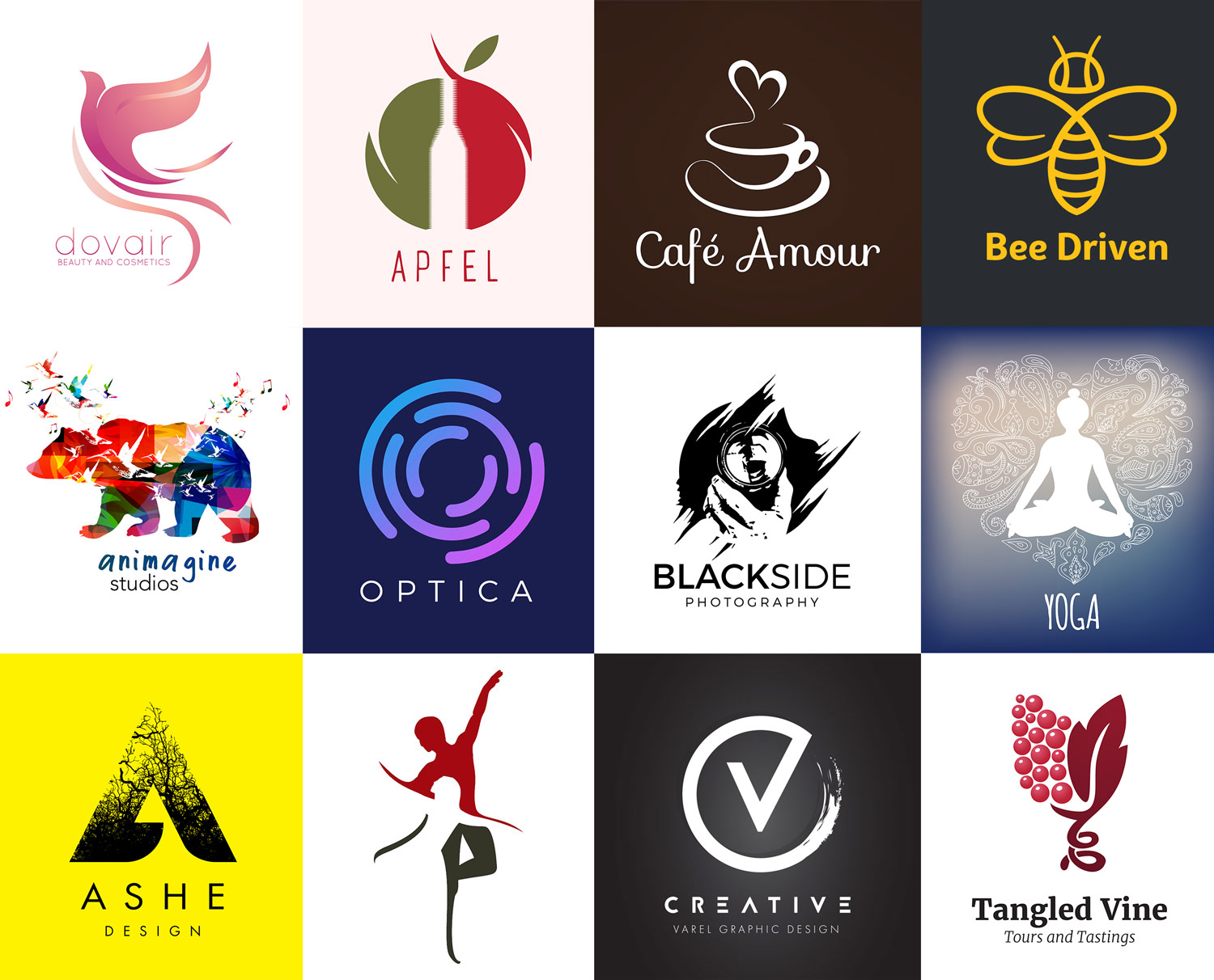 99 Creative Logo Designs for Inspiration.