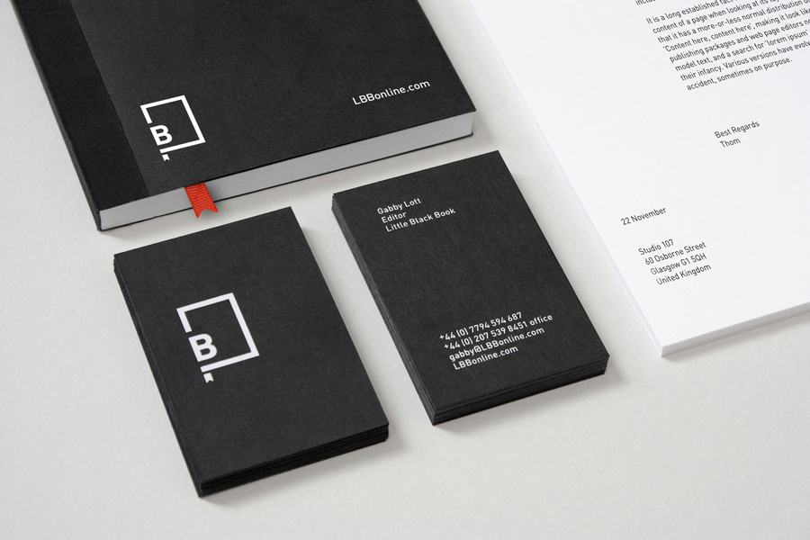 Brand Identity for Little Black Book by Freytag Anderson.