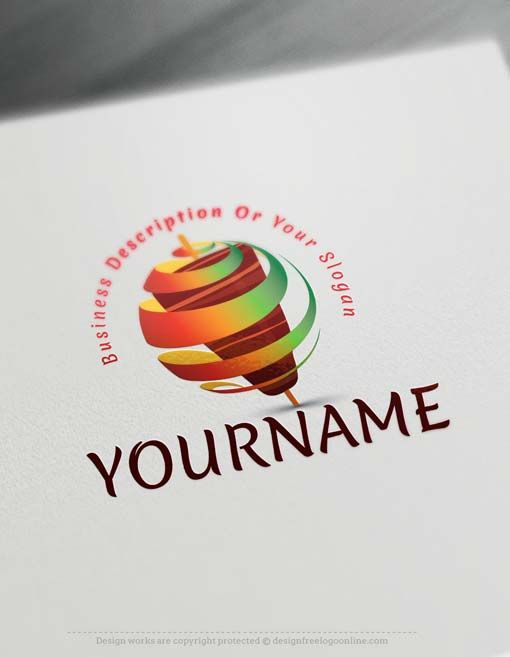 Create Shawarma Logo design with the Free Logo Maker.
