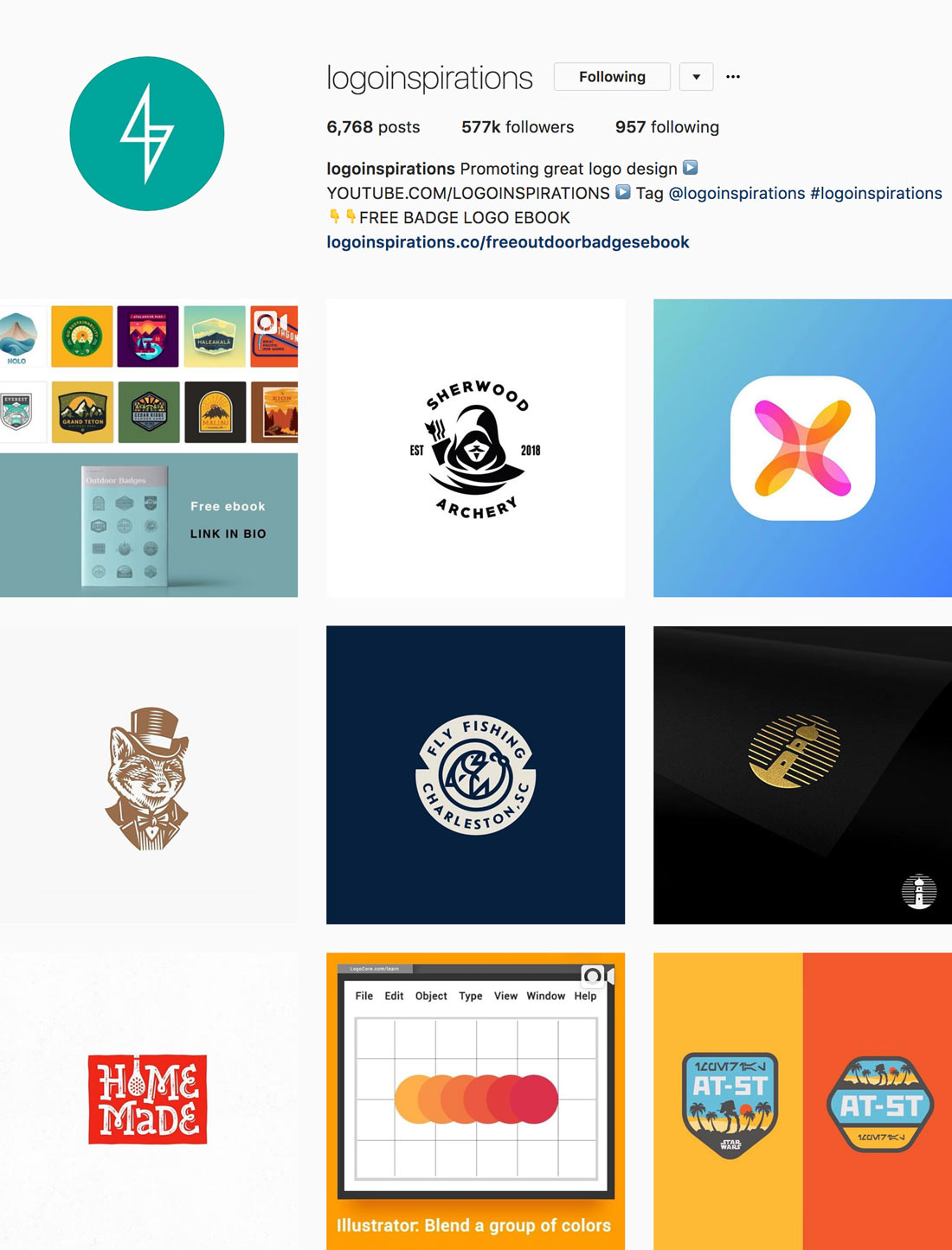 The 18 Best Instagram Accounts for Logo Design Inspiration.