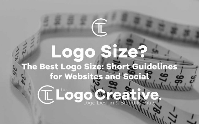 The Best Logo Size: Short Guidelines for Websites and Social.