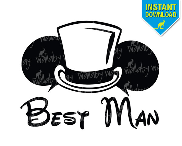 Best Man Clip Art.