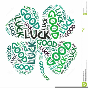 Animated Clipart Good Luck.