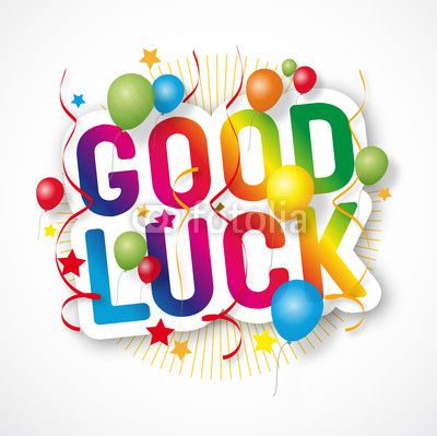 Free clipart images good luck.