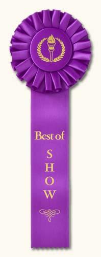 Traditional Award Ribbon Design Ideas: Classic Award Ribbons.