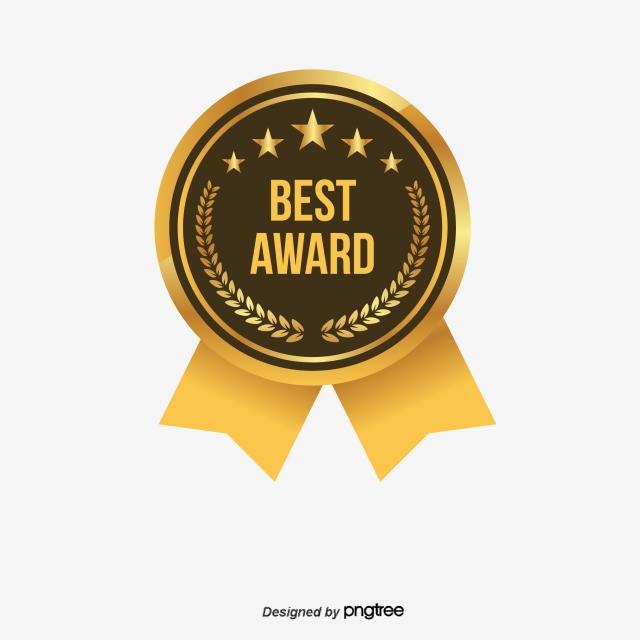 Best Award Label Design Elements, Reward, Illustration, Stars PNG.