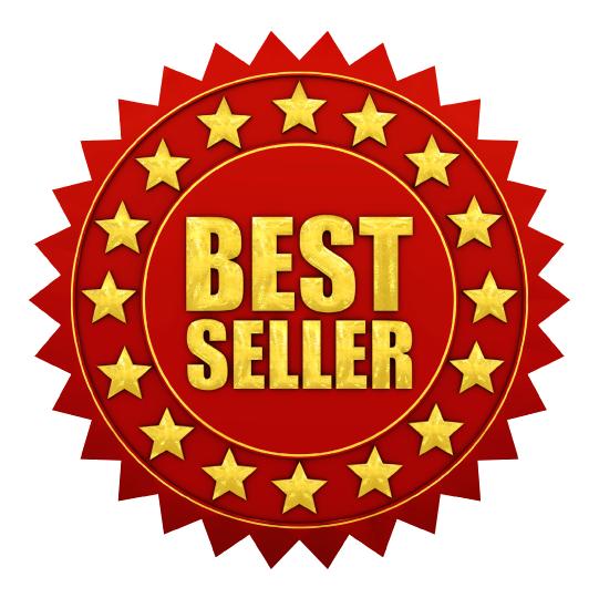Download Best Seller PNG Image.