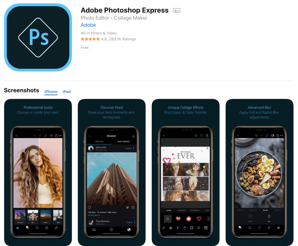 The 17 Best Photo Editing Apps for iPhone and Android in 2019.