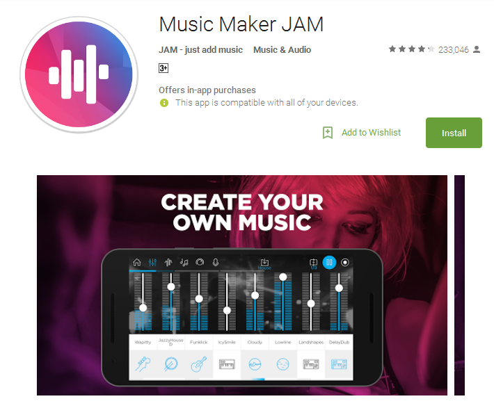 Top 10 Free Music Making Apps Online For Android.